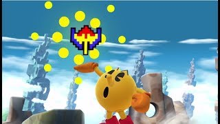 Top 10 Pacman Bonus Fruit Plays/Combos - Super Smash Bros. for Wii U