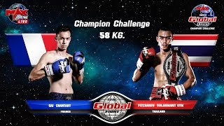 The Global Fight Champion Challenge June 20th, 2018