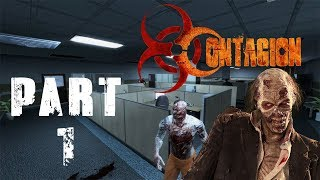 Contagion - Gameplay #1 EXTRACTING SURVIVERS