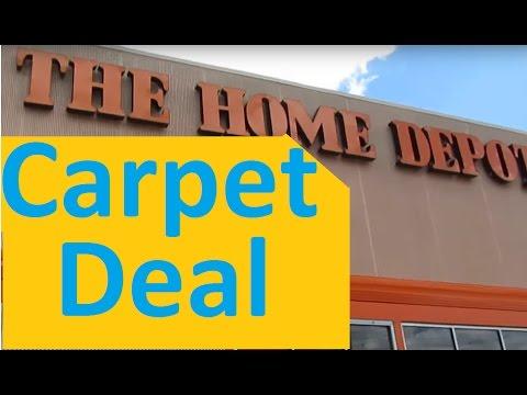 Home Depot Carpet Deal