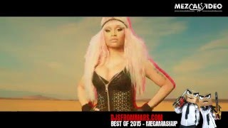 DJS FROM MARS - BEST OF 2015 - MEGAMASHUP (40 SONGS IN 3.30')