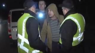 Поліцейський нічний рейд в Броварах