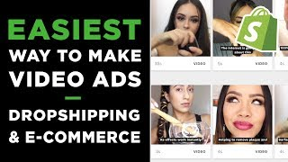 Baixar How To Make Video Ads for E-Commerce & Dropshipping | Simple Method 2019
