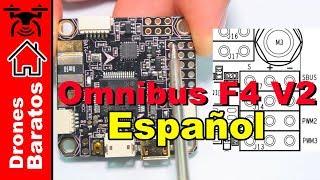 Omnibus F4 V2 Review EspaГ±ol - Controlador de vuelo para drone