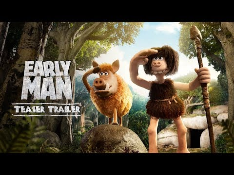 Early Man (2018 Movie) Official Teaser Trailer - Eddie Redmayne, Tom Hiddleston, Maisie Williams