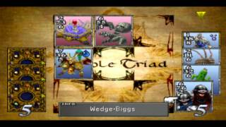 Lets Play Triple Triad (FF8 Kartenspiel) Part 011 - Erbittllicher Pennerkampf Runde 2