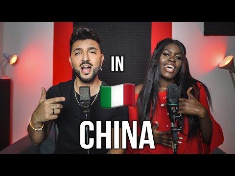 China 🇮🇹 In ITALIANO (Stefano Germanotta, Laura Djae)Anuel AA, Daddy Yankee, KarolG, Ozuna, J Balvin