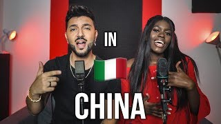 China 🇮🇹 in ITALIANO (Stefano Germanotta, Laura Djae)Anuel AA, Daddy Yankee, KarolG, Ozuna, J Balvin