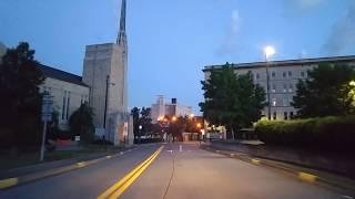 Driving by Clarksburg,West Virginia