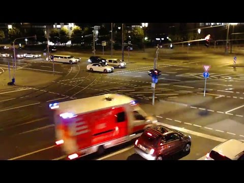 [LIVE] EINSATZFAHRTEN Frankfurt am Main Freitagabend | Platz der Republik
