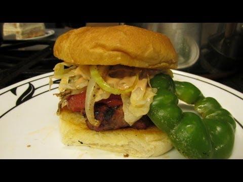Dominican Chimichurri street burgers