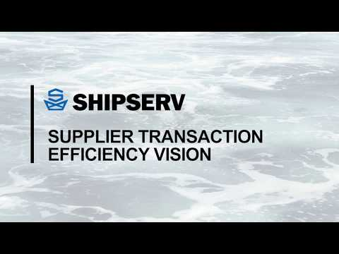 Supplier Transaction Efficiency Vision