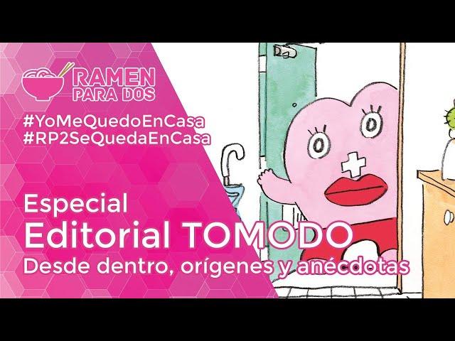 EDICIONES TOMODOMO desde dentro, orígenes y anécdotas