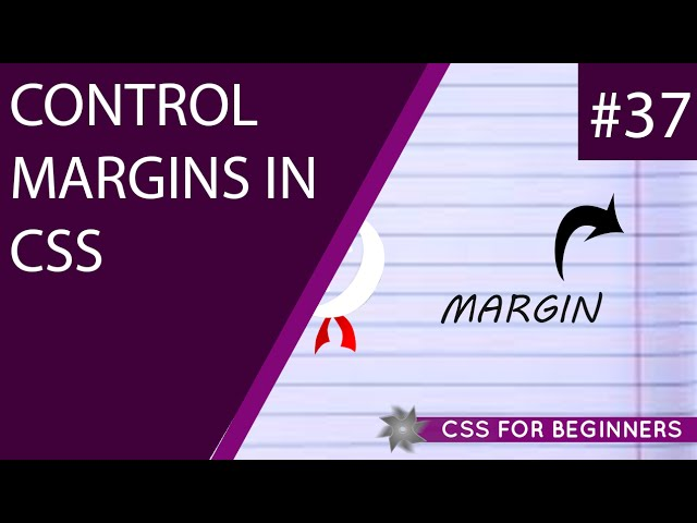 CSS Tutorial For Beginners 37 - Margins