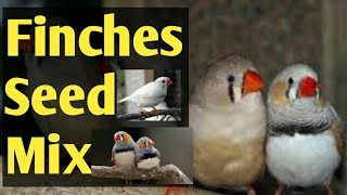 Finches Seed Mix