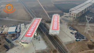 Для чего разворачивают мосты в Китае