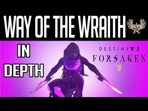 Way Of The Wraith In-Depth: NEW Destiny 2 Forsaken Nightstalker Subclass