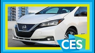 Long-Range Nissan LEAF e-plus Announced at CES 2019. Here's What You Need To Know