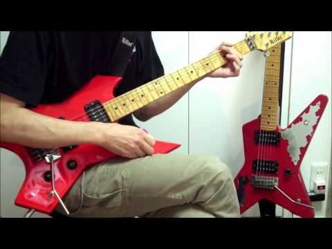 Loudness Guitar Cover / 25 Days From Home