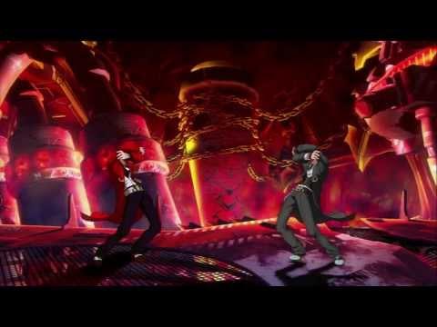 Blazblue Chronophantasma: Unlimited Hazama Battle