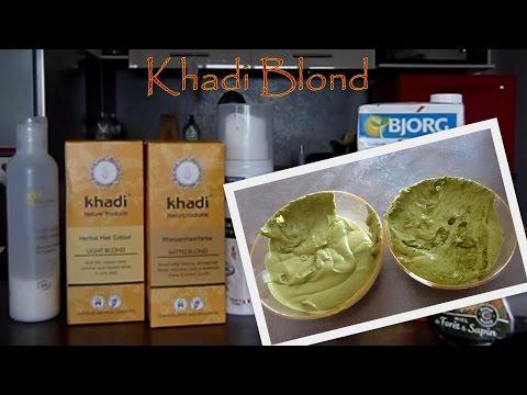 5 ⚛ Coloration Végétale Khadi Blond ⚛