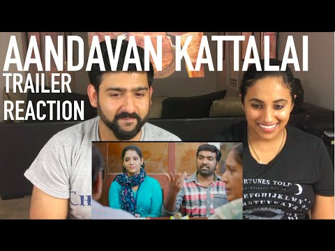 Aandavan Kattalai Trailer Reaction | Vijay...