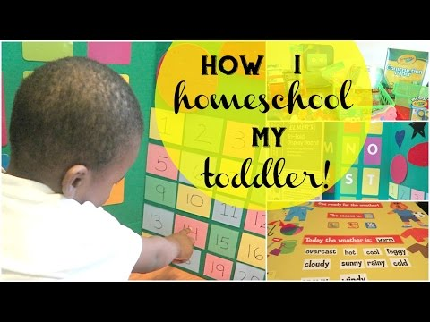 How I Homeschool My Toddler | Fun, Educational & Affordable Tips for Daycare & Pre-K Aged Children!