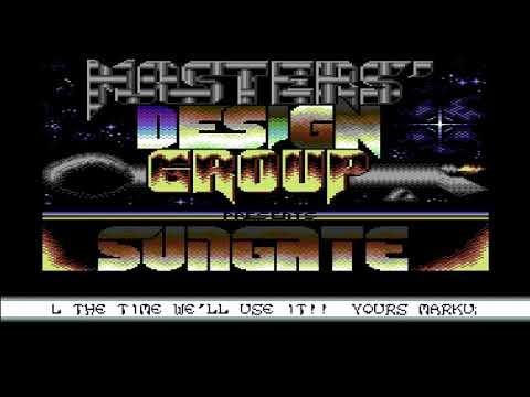Demo-Sungate By Master Design Group (MDG) ! Commodore 64 (C64)