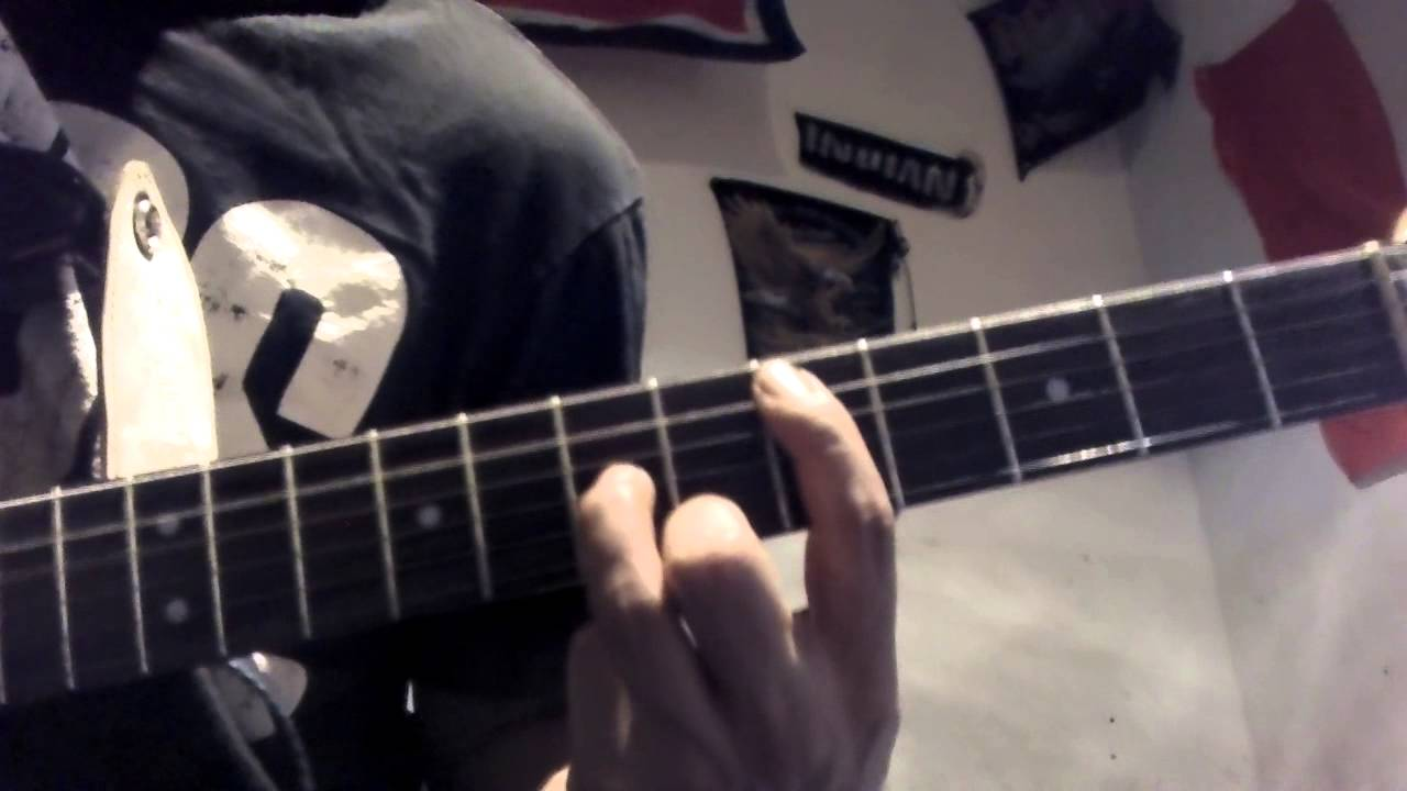 Jimmy Eat World The Middle Guitar Chords Youtube
