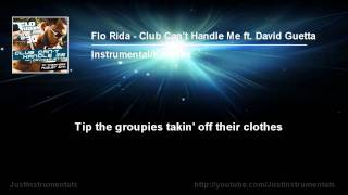 Flo Rida ft. David Guetta - Club Can