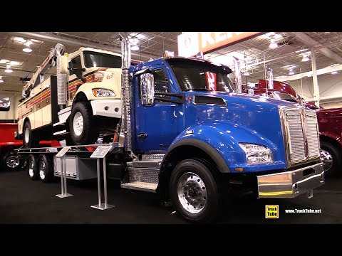 2018 Kenworth T880 NRC Roll Deck Truck - Exterior and Interior
