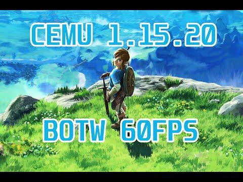 [WII U EMULATION] CEMU 1.15.20 - THE LEGEND OF ZELDA: BOTW - 60 FPS