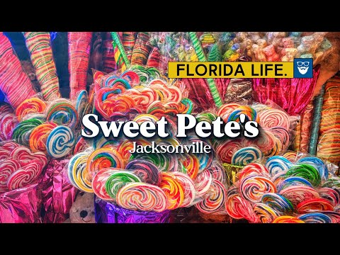 "Finally visiting Jacksonville's famous Sweet Pete's candy store from CNBC's ""The Profit"""