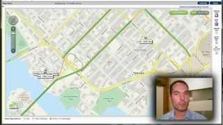 Map View - GPS Fleet Tracking Devices
