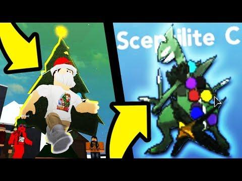 How To Get Christmas Mega Sceptile in Pokemon Brick Bronze! (Christmas Update)