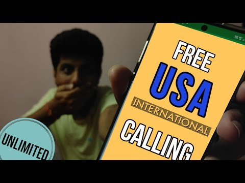 How To Dial To USA/Canada For Free | Unlimited International Calling For Free