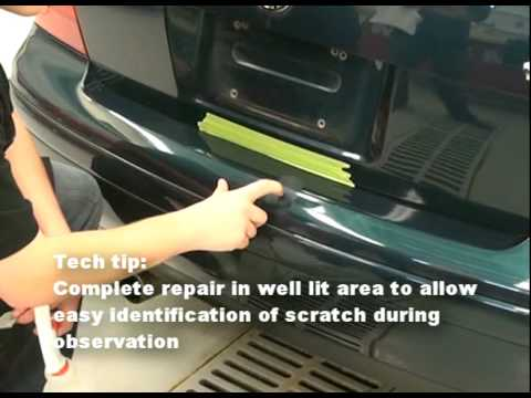 How To Remove A Scratch With The 3m Tm Scratch Removal System Youtube