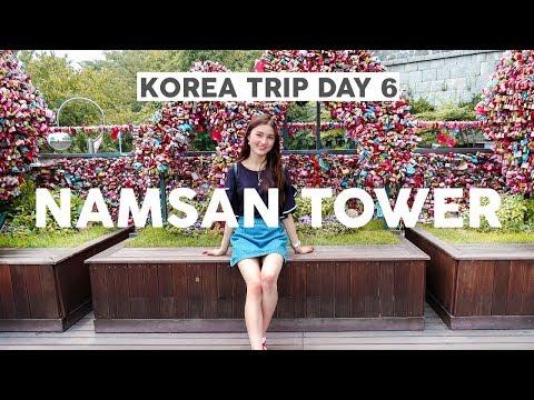 Korea Trip 2017 Day 6⎮Namsan Tower, Apgujeong & Hello Kitty Cafe