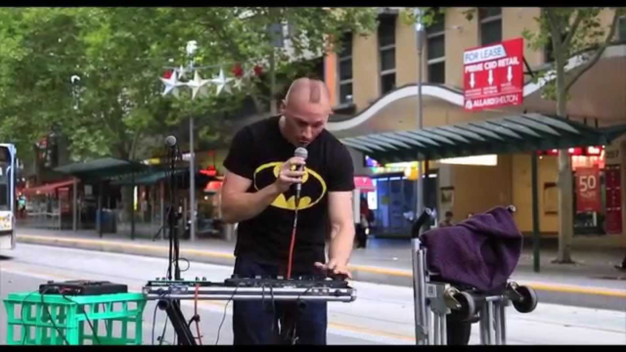 Morf Music Melbourne Street Performance Youtube