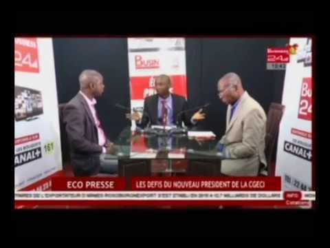 Eco presse | les défis du nouveau president de la CGECI