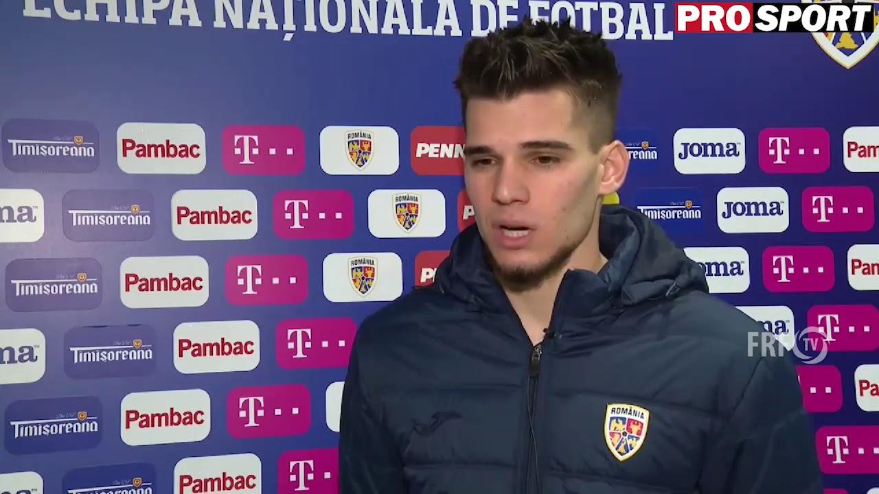 "Ianis Hagi dupa Romania U21 - Danemarca U21 (1-1): "" Stiam ca avem o generatie buna. Mergem la Euro"""