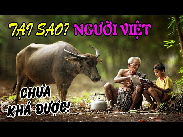 Tại sao người Việt chưa khá được?