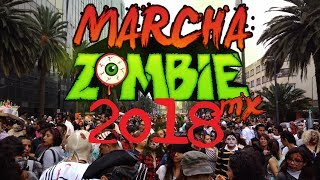 Marcha Zombie México 2018   Jack Barretto