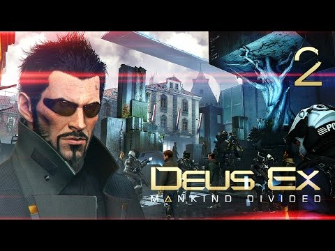 Прибытие в Прагу ● Deus Ex: Mankind Divided #2 [PC] 1080p60