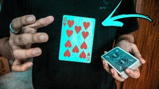 Make ANY Card FLY OUT - Card Magic TUTORIAL!!!