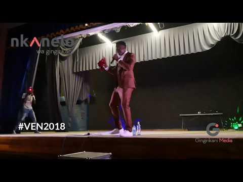 Maraji on stage at VEN2018 V. Engineering Night | Nkanelo Wa Gingirikani