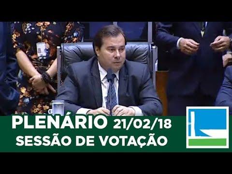 PLENÁRIO - Sessão Deliberativa - 21/02/2018 - 18:24