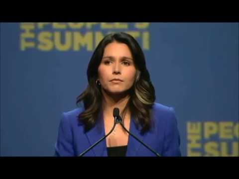Rep Tulsi Gabbard:'We must end our war to overthrow the Syrian government now.'