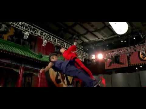 The Karate Kid - Best Fight Scene Ever | Cheng VS Mat Four Opponent | (HD)