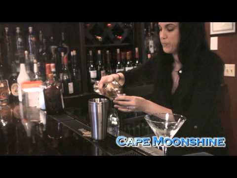 El Pulpo Cape Can-Can Martini with Cape Moonshine
